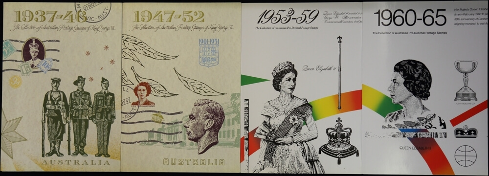 Run of Australia Post Year Stamp Books MUH from 1937 to 2017 with 5 Bonus sheets product image