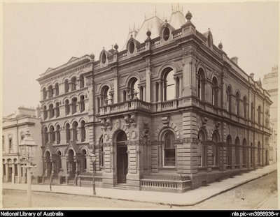 Head Office of the City Bank of Sydney