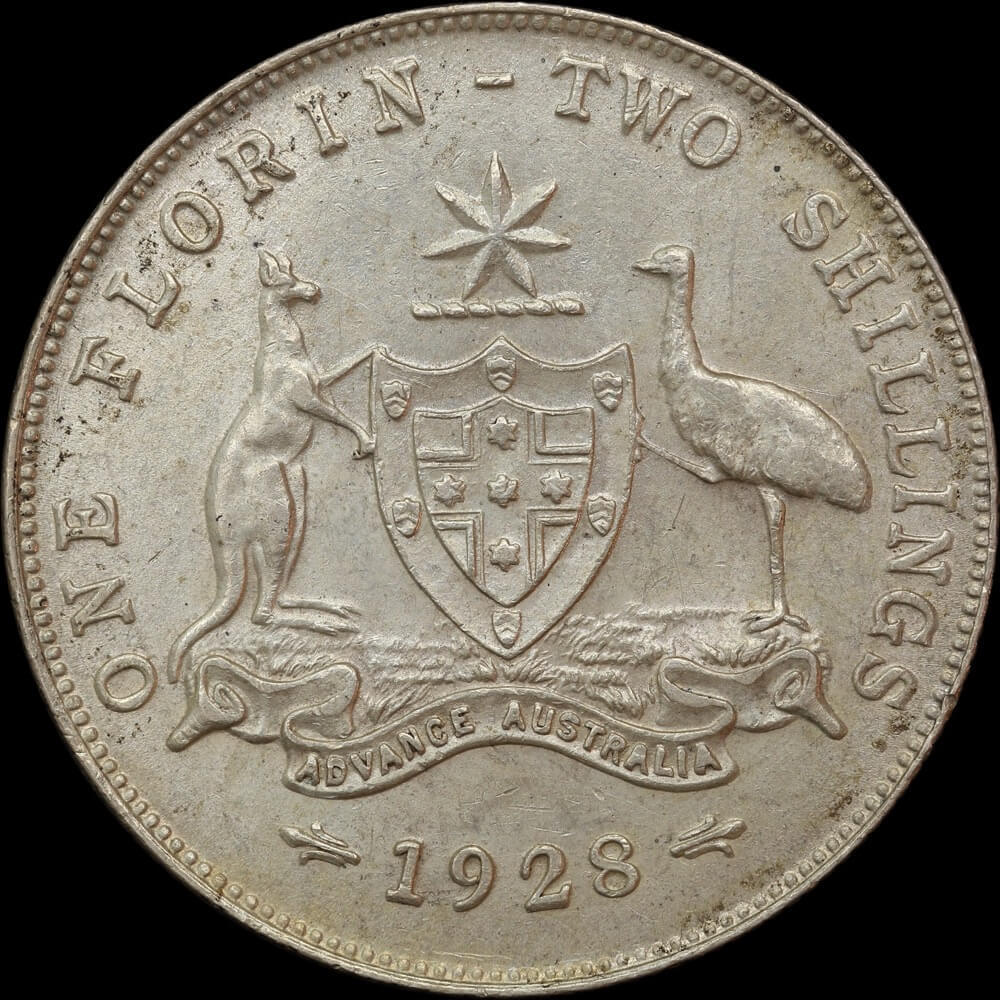 1928 Florin Extremely Fine product image