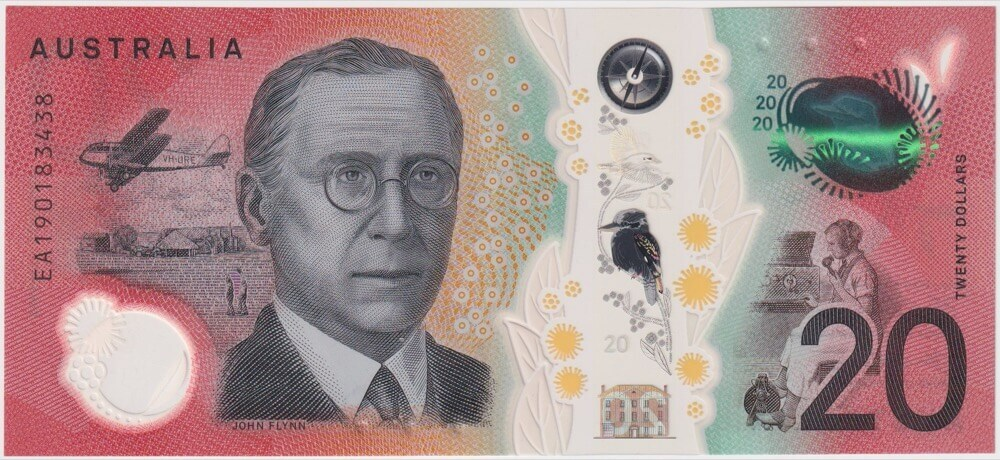 2019 $20 Note EA19 Last Prefix R426L Fraser / Lowe Uncirculated product image