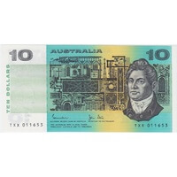 1983 $10 Note Johnston/Stone R308 Uncirculated