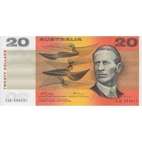 1974 $20 Note Australia Phillips/Wheeler R405 Uncirculated