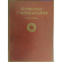 Andrews Arthur. Australasian Tokens And Coins Sydney Mitchell Library 1921 Book