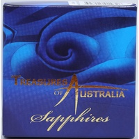 2007 Gold One Ounce Proof Coin Treasures of Australia Sapphires