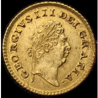 1800 Gold Third Guinea George III S#3738 good EF