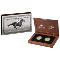2010 Fifty Coin Proof Set 150th Anniversary of the Melbourne Cup