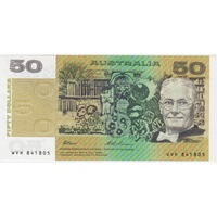 1993 $50 Note Fraser/Evans R515 Uncirculated
