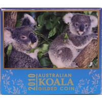 2010 Silver 1oz Gilded Koala Uncirculated