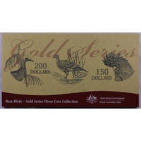 2004 - 2006 200 Dollar Gold Proof Coin Set Rare Birds