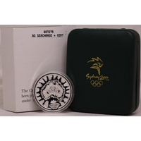 2000 Silver One Ounce Olympic Coin A Sea Change (I)
