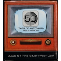 2006 One Dollar Silver Proof Coin TV