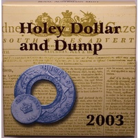 2003 One Dollar Proof Ballot Issue Holey Dollar