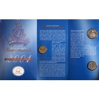 2001 Federation Three Coin Unc Set SA