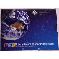 Australia 2008 Mint Uncirculated Coin Set Year of the Planet