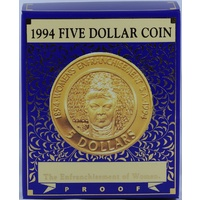 1994 Five Dollar Proof Enfranchisement
