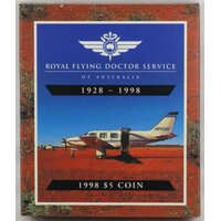 1998 Five Dollar Proof Coin Flying Doctors