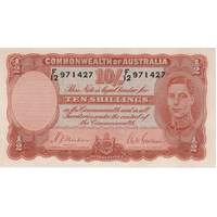 1939 Ten Shilling Sheehan/McFarlane R12 Uncirculated