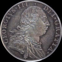 1787 Silver Proof Shilling George III S#3743 PCGS PR64