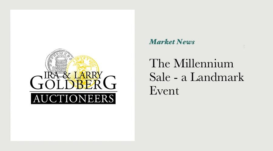 The Millennium Sale - a Landmark Event main image
